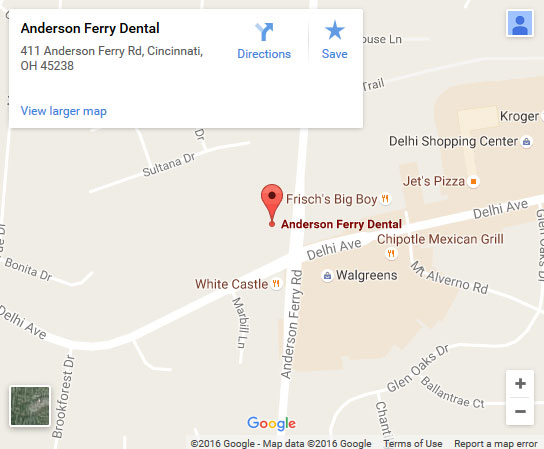 Anderson Ferry Dental Map